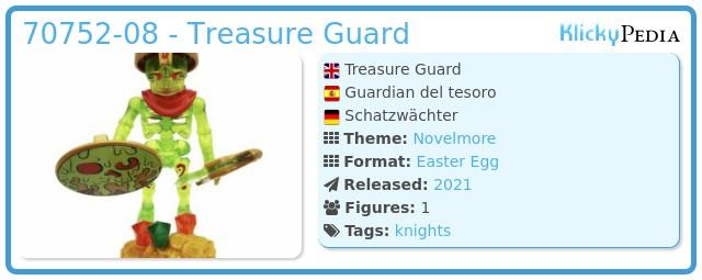 Playmobil 70752-08 - Treasure Guard