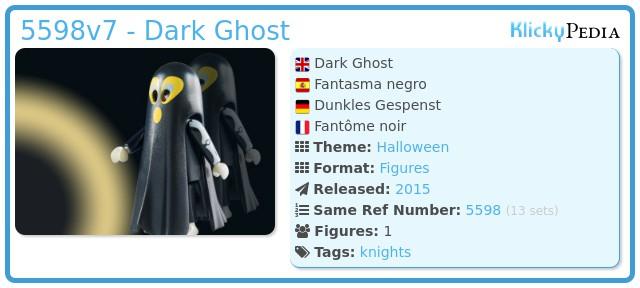 Playmobil 5598v7 - Dark Ghost