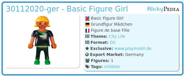Playmobil 30112020-ger - Basic Figure Girl