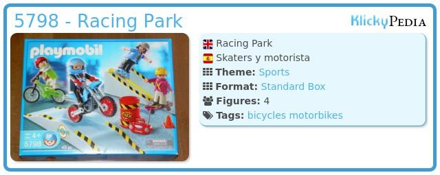 Playmobil 5798 - Racing Park