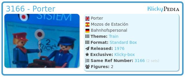 Playmobil 3166 - Porter