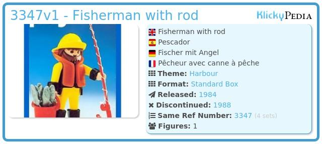 Playmobil 3347v1 - Fisherman