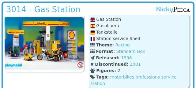 Playmobil 3014 - Gas Station