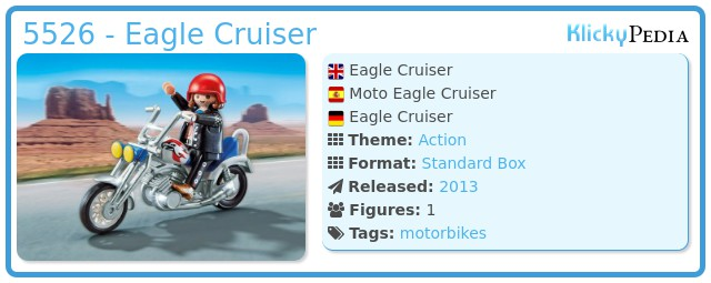 Playmobil 5526 - Eagle Cruiser