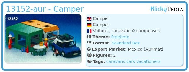 Playmobil 13152-aur - Camper