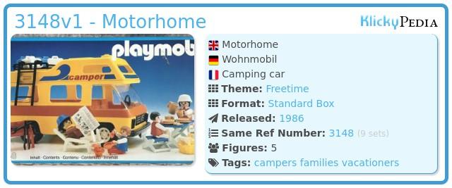 Playmobil 3148v1 - Motorhome