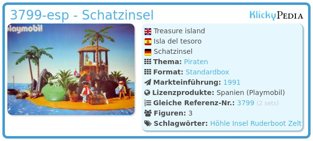 Playmobil 3799-esp - Schatzinsel