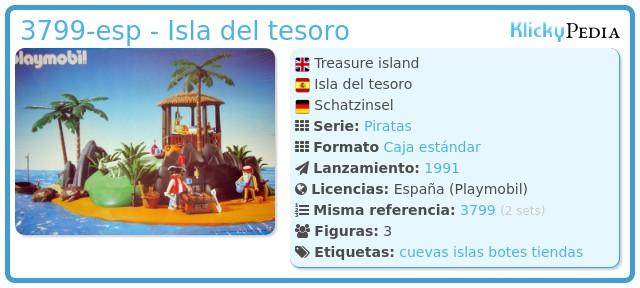 Playmobil 3799-esp - Isla del tesoro