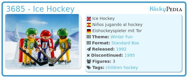 Playmobil 3685 - Ice Hockey