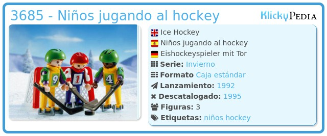 Playmobil 3685 - Niños jugando al hockey
