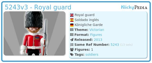 Playmobil 5243v3 - Royal guard