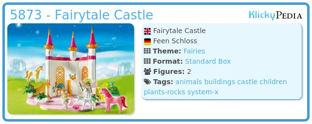 Playmobil 5873 - Fairytale Castle