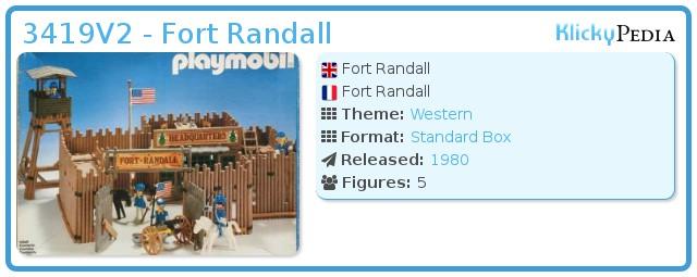 Playmobil 3419V2 - Fort Randall