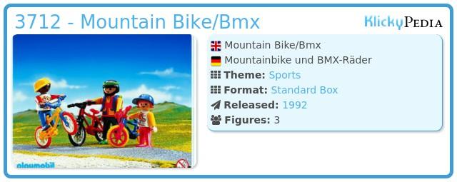 Playmobil 3712 - Mountain Bike/Bmx