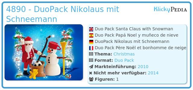 Playmobil 4890 - Nikolaus mit Schneemann