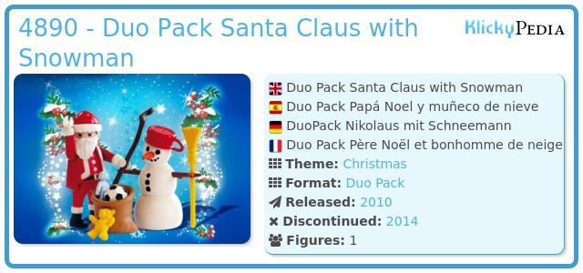 Playmobil 4890 - Santa Claus with Snowman