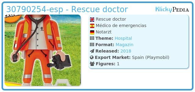 Playmobil 30790254-esp - Rescue doctor