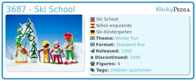 Playmobil 3687 - Ski School