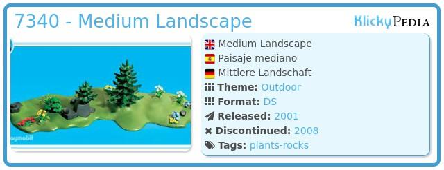 Playmobil 7340 - Medium Landscape