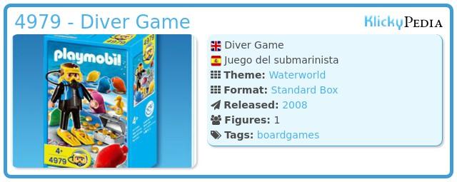 Playmobil 4979 - Diver Game