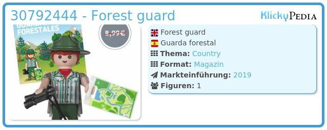 Playmobil 30792444 - Forest guard
