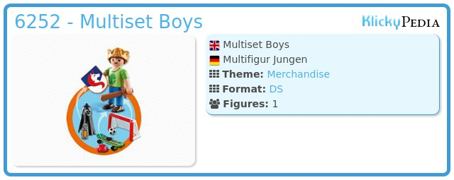 Playmobil 6252 - Multiset Boys
