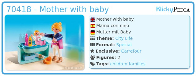 Playmobil 70418 - Mother with baby