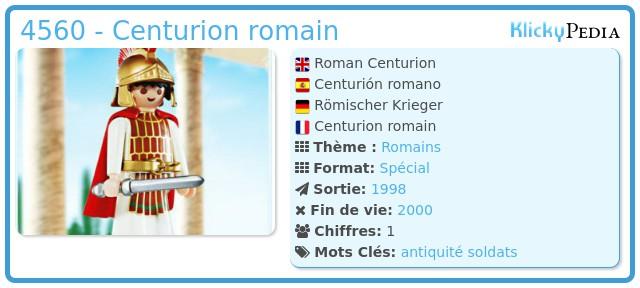 Playmobil 4560 - Centurion romain