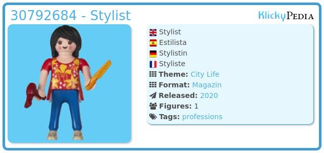 Playmobil 30792684 - Stylist