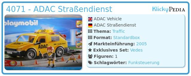 Playmobil 4071 - ADAC Straßendienst
