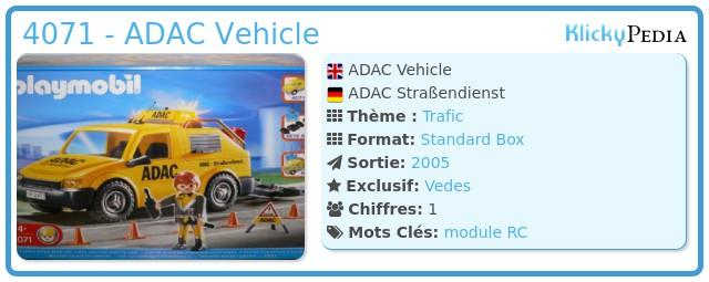 Playmobil 4071 - ADAC Vehicle