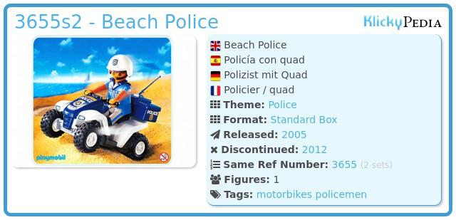 Playmobil 3655s2 - Beach Police