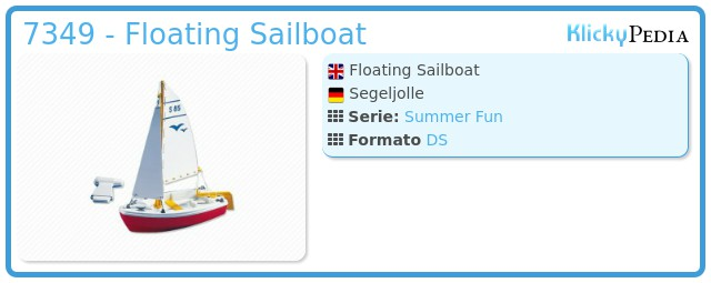 Playmobil 7349 - Floating Sailboat