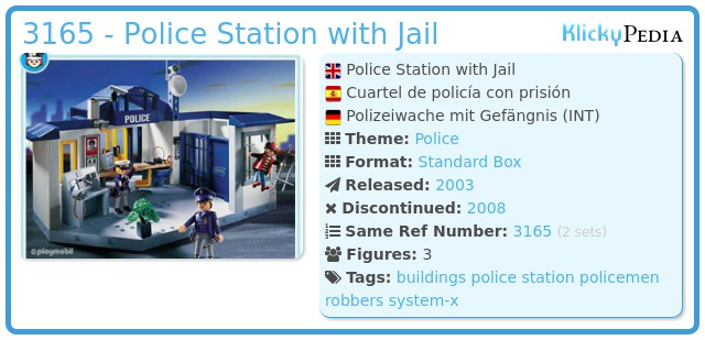 Playmobil 3165 - Police Station with Jail