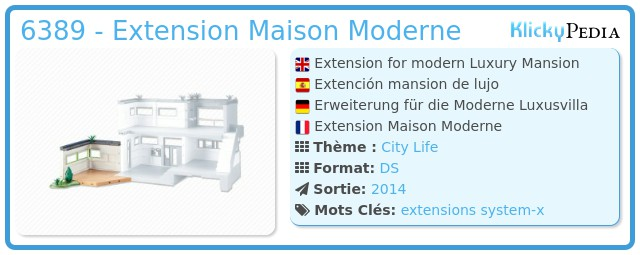 Playmobil 6389 - Extension para Mansion de Lujo