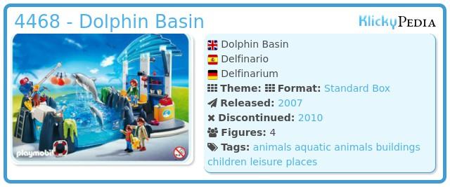 Playmobil 4468 - Dolphin Basin