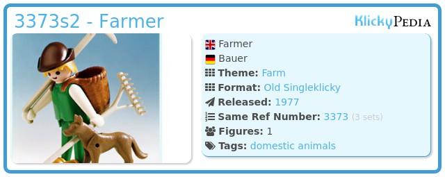Playmobil 3373s2 - Farmer