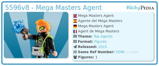 Playmobil 5596v8 - Mega Masters Agent