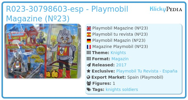 Playmobil R023-30798603-esp - Dragon Knight