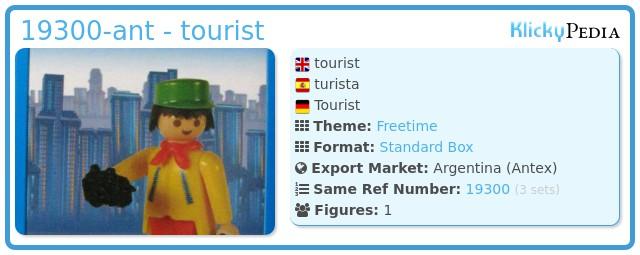 Playmobil 19300-ant - tourist