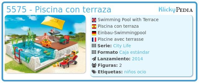 Playmobil 5575 - Swimmingpool with Terrace