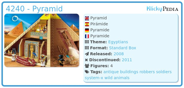 Playmobil 4240 - Pyramid