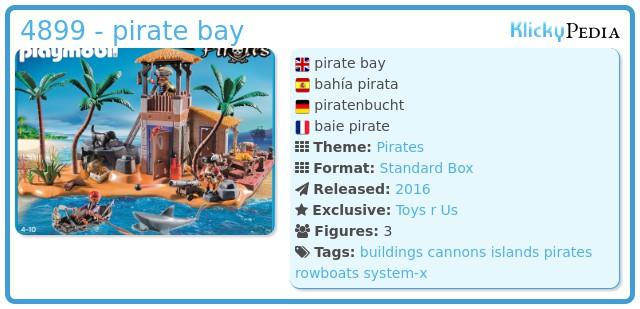 Playmobil 4899 - pirate bay