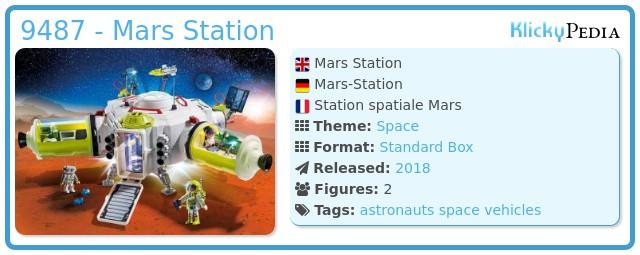 Playmobil 9487 - Mars Station