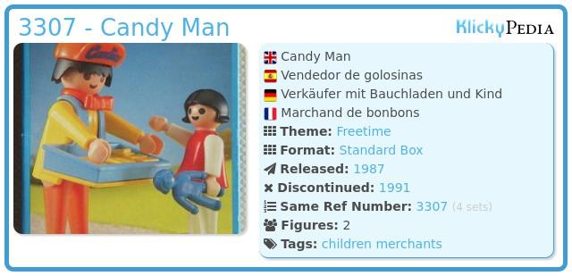 Playmobil 3307 - Candy Man
