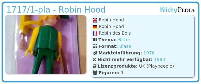 Playmobil 1717/1-pla - Robin Hood