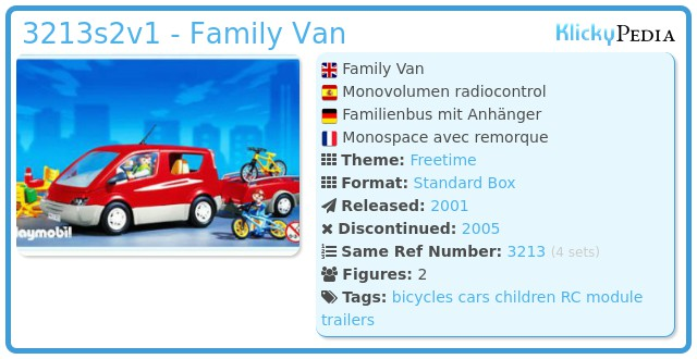 Playmobil 3213s2v1 - Family Van