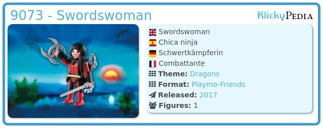 Playmobil 9073 - Swordswoman