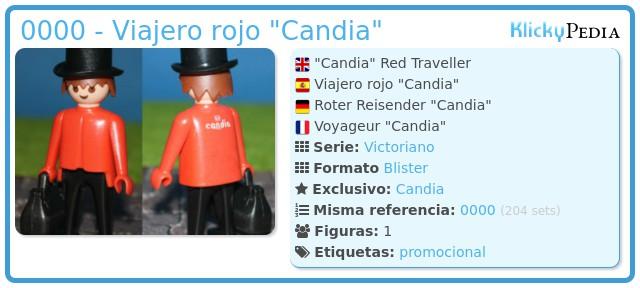 Playmobil 0000 - Viajero rojo