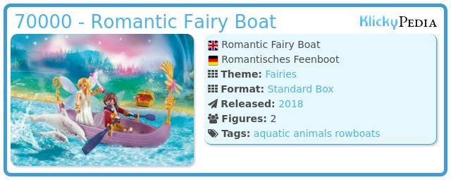 Playmobil 70000 - Romantic Fairy Boat